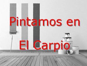Pintor Valladolid El Carpio