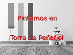 Pintor Valladolid Torre de Peñafiel