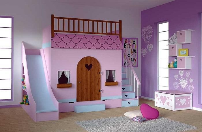 Pintura en dormitorios infantiles